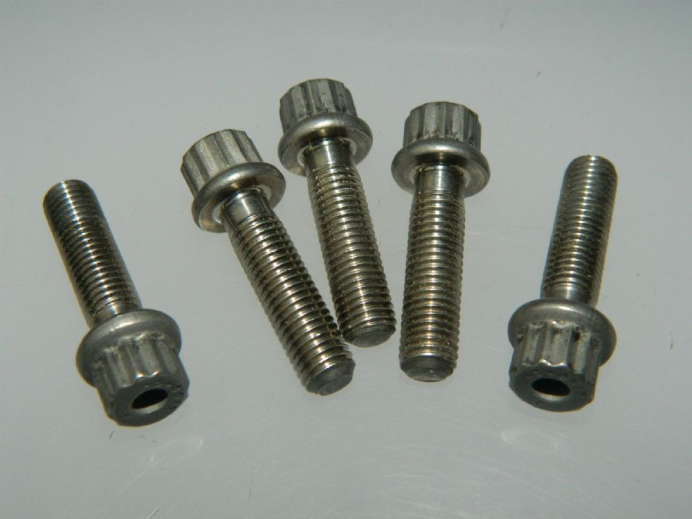 5 X 1 4 Unf Double Hex Head Bolts Fastener Length 15 16